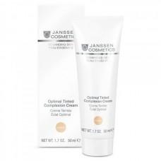 JANSSEN Cosmetics Demanding Skin Optimal Tinted Complexion Cream Medium - Янссен Дневной Крем Оптимал Комплекс (SPF 10), 50мл