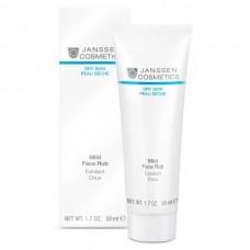 JANSSEN Cosmetics Dry Skin Mild Face Rub - Янссен Мягкий Скраб с Гранулами Жожоба 50мл