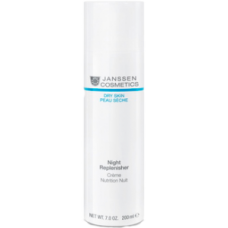 JANSSEN Cosmetics Dry Skin Night Replenisher - Янссен Питательный Ночной Регенерирующий Крем 200мл