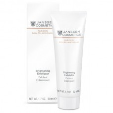 JANSSEN Cosmetics Fair Skin Brightening Exfoliator - Янссен Пилинг-Крем для Выравнивания Цвета Лица 50мл