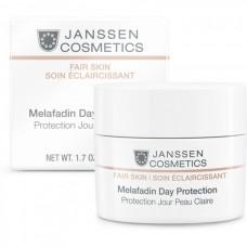 JANSSEN Cosmetics Fair Skin Melafadin Day Protection - Янссен Осветляющий Дневной Крем (SPF 20) 50мл