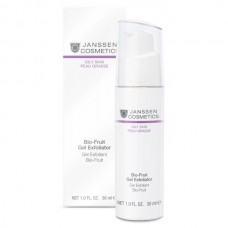 JANSSEN Cosmetics Oily Skin Bio-Fruit Gel Exfoliator (20%; 32%) - Янссен Биокомплекс с Фруктовыми Кислотами 30мл