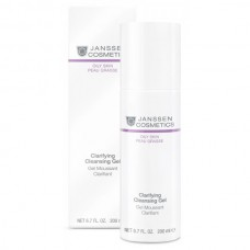 JANSSEN Cosmetics Oily Skin Clarifying Cleansing Gel - Янссен Очищающий Гель 200мл
