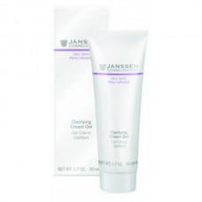 JANSSEN Cosmetics Oily Skin Clarifying Cream Gel - Янссен Себорегулирующий Крем-Гель 50мл