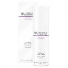 JANSSEN Cosmetics Oily Skin Purifying Tonic Lotion - Янссен Тоник для Жирной Кожи и Кожи с Акне 200мл