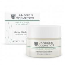 JANSSEN Cosmetics Organics Intense Moisturizer - Янссен Интенсивно Увлажняющий Крем для Упругости и Эластичности Кожи 50мл