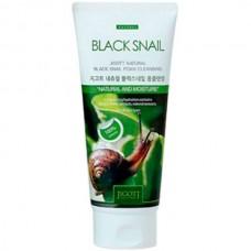 JIGOTT Natural black snail foam сleansing - Очищающая пенка с экстрактом слизи черной улитки 180мл