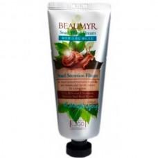 JUNO BEAUMYR Snail Hand Cream - Крем для рук увлажняющий с ЭКСТРАКТОМ УЛИТКИ 100мл