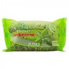 JUNO GREEN TEA Peeling Soap - Мыло отшелушивающие с ЗЕЛЁНЫМ ЧАЕМ 150гр