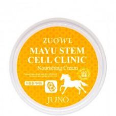 JUNO ZUOWL Mayu Stem Cell Clinic Nourishing Cream - Крем для лица с ЛОШАДИНЫМ МАСЛОМ 100мл