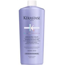 Kerastase BLOND ABSOLU Bain Ultra-Violet Shampoo - Шампунь-ванна фиолетовый, нейтрализующий желтые полутона 1000мл