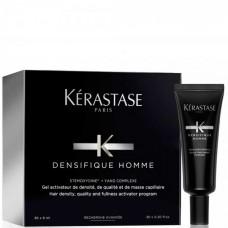 Kerastase Densifique Homme Hair Density And Fullness Programme - Активатор густоты и плотности волос для мужчин ампулы 30х6 мл