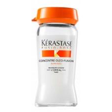 Kerastase Fusio-Dose Concentre Oleo-Fusion - Средство для глубокого питания сухих и чувствительных волос 10 х 12мл