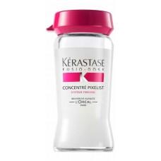 Kerastase Fusio-Dose Concentre Pixelist - Концетрат для придания блеска окрашенным волосам 10*12 мл