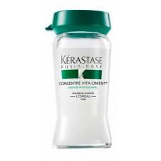 Kerastase Fusio-Dose Concentre Vita-Ciment - Укрепляющий концентрат для ослабленных волос 10*12 мл