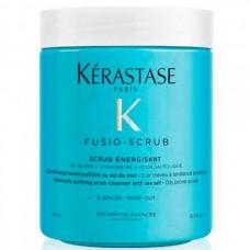 Kerastase Fusio SCRUB ENERGISANT - Скраб-уход для склонной к жирности кожи головы 500мл