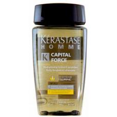 Kerastase Homme Shampoo Energising - Энергетический шампунь для всех типов волос 250 мл
