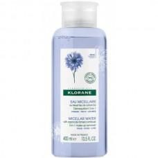 KLORANE Eau Micellaire - Мицеллярная вода для снятия макияжа 3 в 1 с ЭКСТРАКТОМ ВАСИЛЬКА 400мл