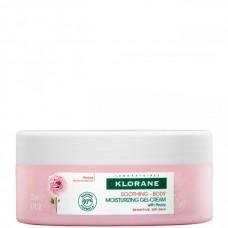 KLORANE Gel-Crème Hydratant à la Pivoine - Увлажняющий гель-крем для тела с ЭКСТРАКТОМ ПИОНА 200мл