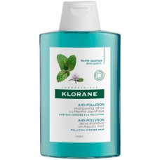 KLORANE Shampooing Detox La Menthe Aquatique - Шампунь-детокс для волос с экстрактом ВОДНОЙ МЯТЫ 200мл