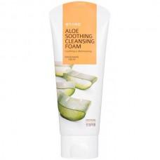 KWAILNARA Aloe Soothing Cleansing Foam - Пенка успокаивающая для умывания с ЭКСТРАКТОМ АЛОЭ 130мл