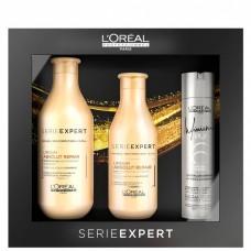 L'OREAL Professionnel ABSOLUT REPAIR LIPIDIUM Kit - Подарочный набор для сильно поврежденных волос 300 + 200 + 75мл