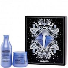 L'OREAL Professionnel BLONDIFIER BOX - Набор для светлых волос Восстанавливающий (Шампунь + Маска) 300 + 250мл