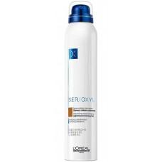 L'OREAL Professionnel SERIOXYL Volumising Coloured Spray LIGHT BROWN - Спрей-камуфляж для волос ШАТЕН 200мл