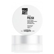 L'Oreal Professionnel Tecni.ART FIX POLISH - Гель-воск для фиксации волос (фикс 3), 75мл