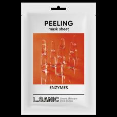 L.SANIC PEELING mask sheet ENZYMES - Тканевая маска с ЭНЗИМАМИ 25мл
