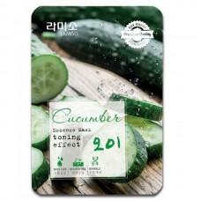 LA MISO Premium Quality Essence Mask GREEN TEA - Маска с экстрактом ЗЕЛЁНОГО ЧАЯ 23гр