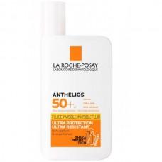 LA ROCHE-POSAY ANTHELIOS Invisible Fluid SPF50+ - Флюид Солнцезащитный для лица и кожи вокруг глаз СЗФ 50+, 50мл