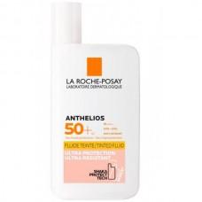 LA ROCHE-POSAY ANTHELIOS Invisible Tinted Fluid SPF50+ - Флюид Солнцезащитный для лица и кожи вокруг глаз Тонирующий СЗФ 50+, 50мл