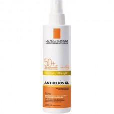 LA ROCHE-POSAY ANTHELIOS XL Ultra Invisible Spray SPF50+ - Спрей Солнцезащитный Ультра невидимый для лица и тела СЗФ 50+, 200мл