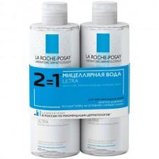 LA ROCHE-POSAY Sensitive skin Micellar Water ULTRA - Мицеллярный вода для чувствительной кожи лица и глаз 2 х 400мл