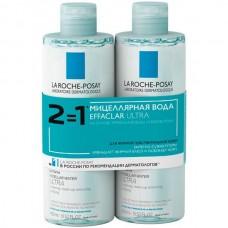 LA ROCHE-POSAY Reactive Skin Micellar Water ULTRA - Мицеллярный вода для реактивной кожи лица и глаз 2 х 400мл