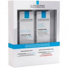 LA ROCHE-POSAY HYDRAPHASE SET - Набор для обезвоженной кожи (Крем-гель интенсивно увлажняющий + Маска интенсивно увлажняющая) 50 + 50мл