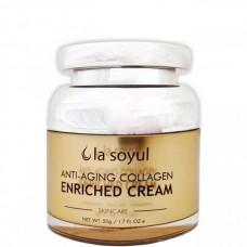 la soyul Anti-Aging Collagen ENRICHED CREAM - Крем антивозрастной обогащенный КОЛЛАГЕНОМ 50гр