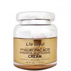 la soyul Hyaluronic Acid Nutensive Revitalizing CREAM - Крем для лица с ГИАЛУРОНОВОЙ КИСЛОТОЙ 50гр
