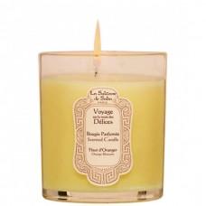 La Sultane de Saba Voyage India Aroma Candle - Свеча ароматическая ЦВЕТЫ АПЕЛЬСИНА 165гр