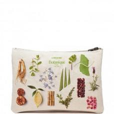 LA BIOSTHETIQUE Botanique Beauty Bag - Косметичка из натурального льна с логотипом 1шт
