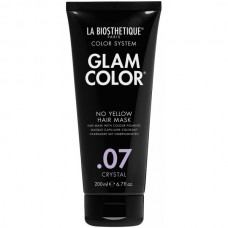 LA BIOSTHETIQUE GLAM COLOR No Yellow Hair Mask .07 Crystal - Тонирующая маска для волос 200мл