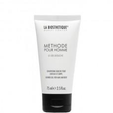 LA BIOSTHETIQUE METHODE POUR HOMME Le Gel Douche - Гель-шампунь для душа с увлажняющим комплексом 75мл