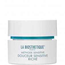 LA BIOSTHETIQUE METHODE SENSITIVE Douceur Sensitive Riche - Крем интенсивный успокаивающий для очень сухой Чувствительной кожи 50мл