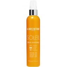 LA BIOSTHETIQUE SOLEIL Spray Invisible (SPF 6) - Водостойкое масло для загара с каротином (СЗФ 6) 150мл