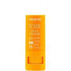 LA BIOSTHETIQUE SOLEIL Stick Solaire (SPF 30) - Водостойкий стик для интенсивной защиты чувствительной кожи губ, глаз, носа, ушей (СЗФ 30), 8гр