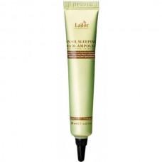 La'dor SNAIL SLEEPING HAIR AMPOULE - Сыворотка для волос ночная восстанавливающая 20мл