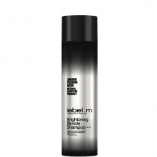 label.m Brightening Blonde Shampoo - Шампунь Осветляющий для блондинок 250мл