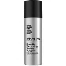 label.m Complete Texturising Volume Spray BRUNETTE - Спрей Текстурирующий для Объема Волос для БРЮНЕТОК 200мл