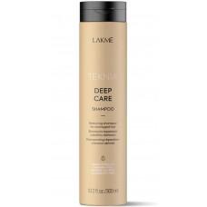 LAKME TEKNIA NEW! DEEP CARE SHAMPOO - Восстанавливающий шампунь для поврежденных волос 300мл